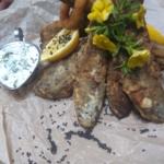 Салат с мясом страуса и сельдереем