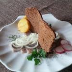 Филе сельди с маринованным лучком